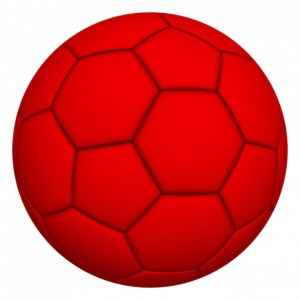 soccer ball color